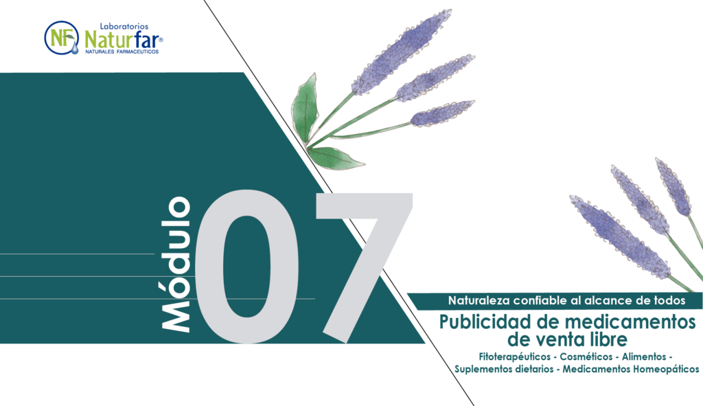 Módulo 7 Publicidad De Medicamentos De Venta Libre
